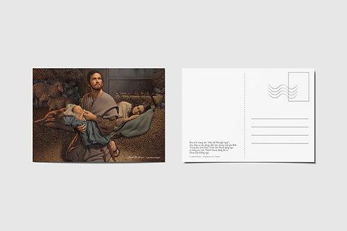 """Postcard Giáng Sinh - """"Hãy để Mẹ nghỉ ngơi"""""""