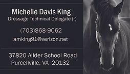 Michelle Davis King TD Business Card USD