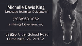 Michelle Davis King TD Business Card USD