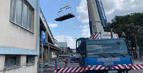 Нов завършен промишлен ремонт на  Южна фасада в ТЕЦ Девеня