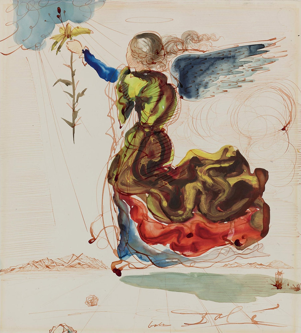 Salvador-Dali-Angel-Of-The-Annunciation.