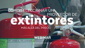 Cómo seleccionar un proveedor de extintores, más allá del precio