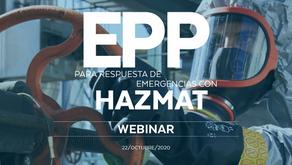 EPP para respuesta de emergencias con Hazmat
