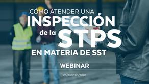 Cómo atender una inspección de la STPS en materia de SST