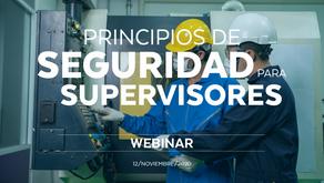 Principios de seguridad para supervisores
