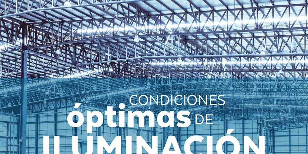 Condiciones óptimas de iluminación para un trabajo seguro