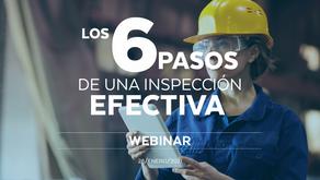 Los 6 pasos de una inspección efectiva