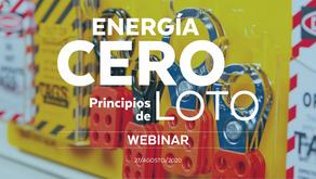 Energía CERO, principios de LOTO