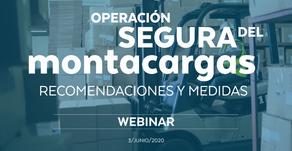 Operación segura del montacargas: recomendaciones y medidas