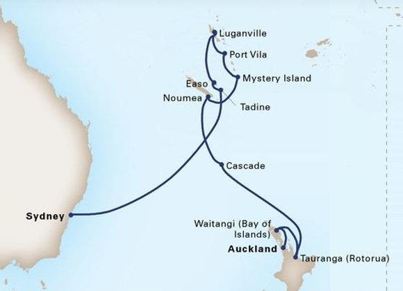 Maasdam * Jan 6,-2020 * Sydney to Auckland * 14 Nights