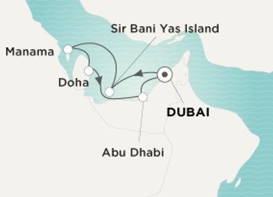 Crystal Esprit * Nov-29-2019 * Dubai to Dubai * 7 Nights