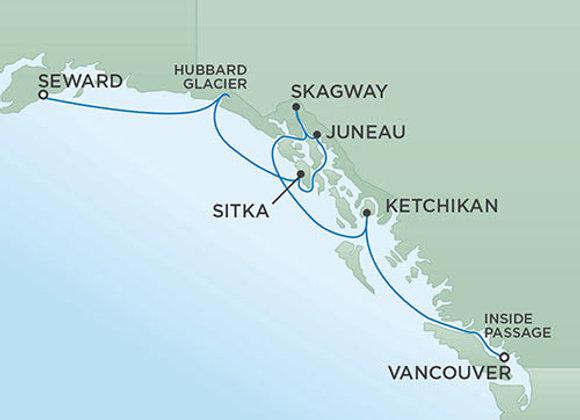 Regent - 28/Aug/19 - 7 nights - Anchorage (Seward), AK