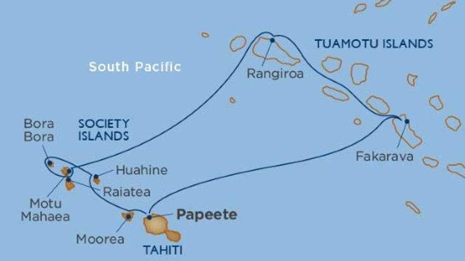 Wind Spirit * Nov-21-2019 * Papeete to Papeete * 11 nights