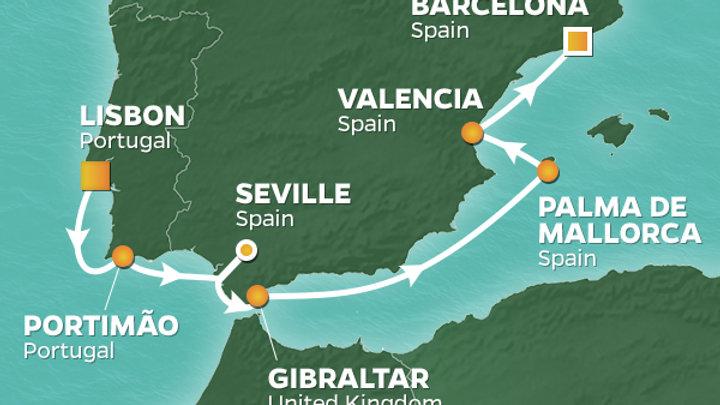 Azamara Journey * Sep-05-2019 * Lisbon to Barcelona * 9 nights