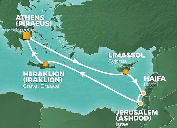 Azamara Pursuit * Sep-04-2019 * Athens (Piraeus) to Athens (Piraeus) * 10 Nights