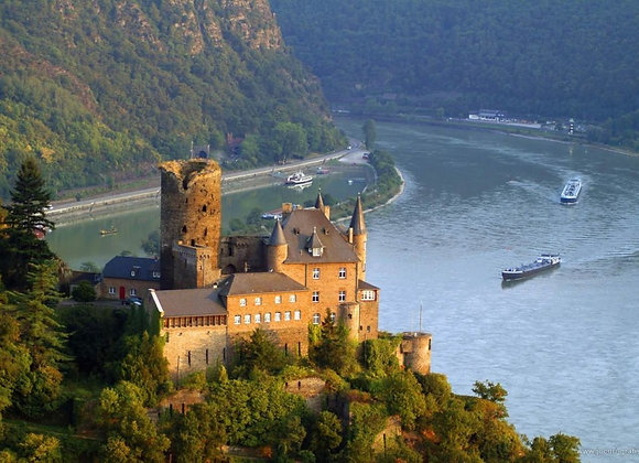 Castles along the Rhine - 7 Days - AMSTERDAM/BASEL or reverse