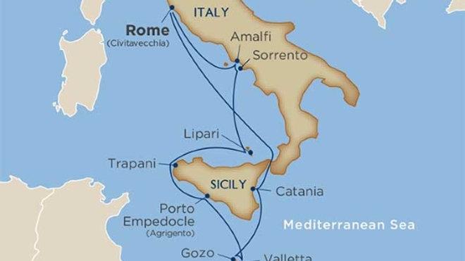 Wind Surf * Sep-26-2019 * Rome (Civitavecchia) to Rome * 10 nights