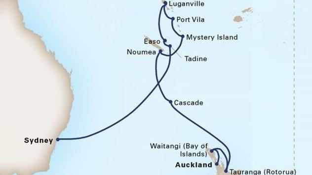 Maasdam * Jan 6,-2019 * Sydney to Auckland * 14 nights