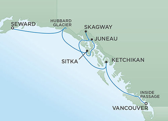 Seven Seas Mariner * Sep-11-2019 * Anchorage (Seward) to Vancouver * 7 Nights