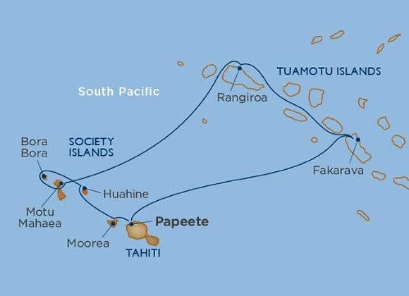 Windstar - 7 nights - Sep-19-19 -Papeete, Tahiti, Society Islands