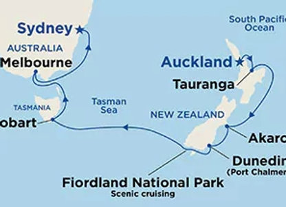 Majestic Princess * Dec-27-2019 * Auckland to Sydney * 12 Nights