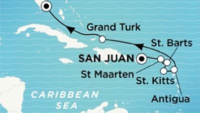 Crystal Serenity * Dec-14-2019 * San Juan to Miami * 8 nights