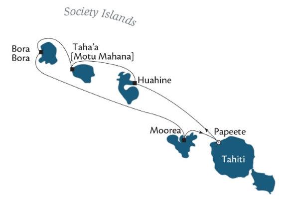 7 Nights - DEPARTS - Dec/19 - Papeete, Tahiti, Society Islands
