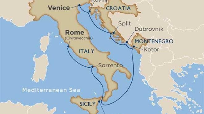 Wind Surf * Oct-06-2019 * Rome (Civitavecchia) to Venice * 8 nights