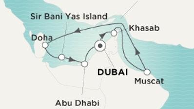 Crystal Esprit * Dec-06-2019 * Dubai to Dubai * 10 nights