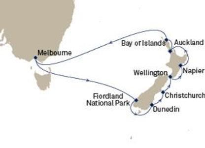 Cunard sailing onQueen Elizabeth Jan 12,2020 -  14 nights