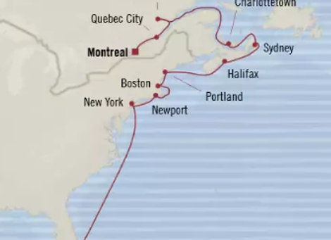 Oceania - 30/Oct/19 - 16 nights - Montreal, QC, Canada
