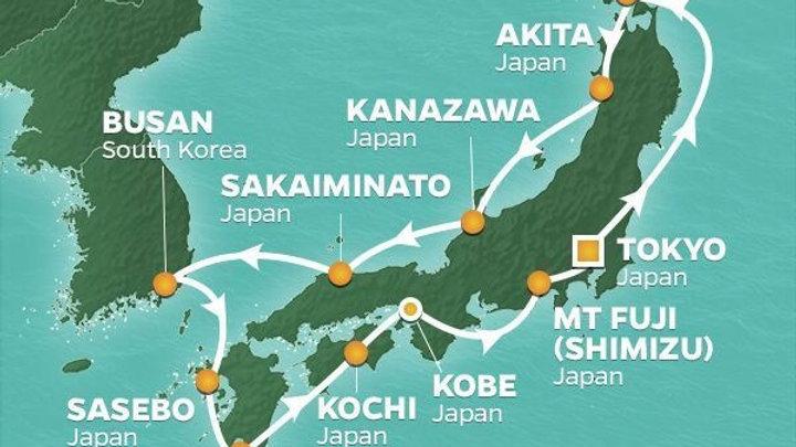 Azamara Quest * Sep-04-2019 * Tokyo (Harumi) to Tokyo (Harumi) * 14 nights