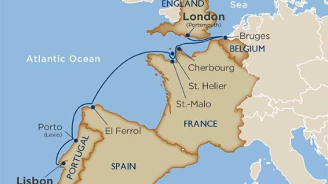 Star Breeze * Sep-25-2019 * Portsmouth to Lisbon * 8 nights