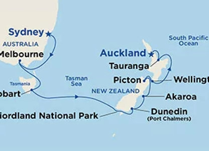 Ruby Princess * Dec-13-2019 * Sydney to Auckland * 14 Nights