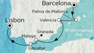 Crystal Serenity * Nov-05-2019 * Barcelona to Lisbon * 7 nights