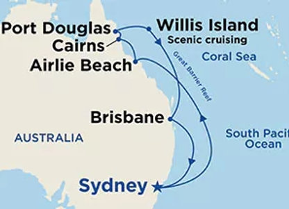 Majestic Princess * Nov-27-2019 * Sydney to Sydney * 10 Nights
