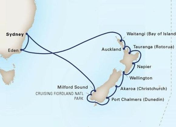 Noordam * Apr 2,-2020 * Sydney to Sydney * 14 Nights