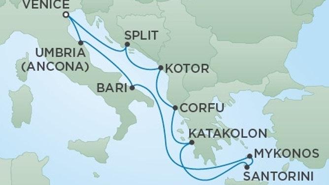 Seven Seas Voyager * Jun 14,-2019 * Venice to Venice * 10 nights