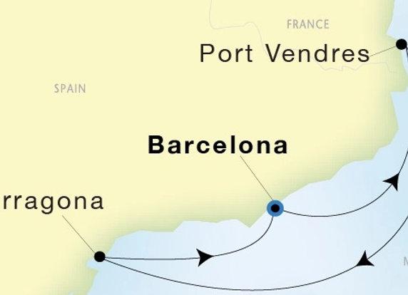 SeaDream I * Oct-09-2019 * Barcelona to Barcelona * 3 Nights