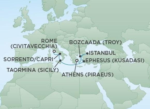 Regent - 08/Oct/19 - 8 nights - Rome (Civitavecchia), Italy