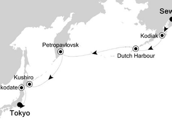 Silversea - 12/Sep/19 - 14 nights - Anchorage (Seward), AK