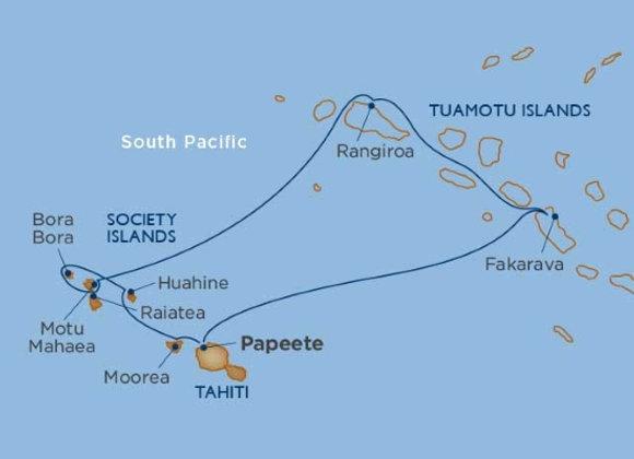 Windstar - 11 nights - Nov-21-19 -Papeete, Tahiti, Society Islands