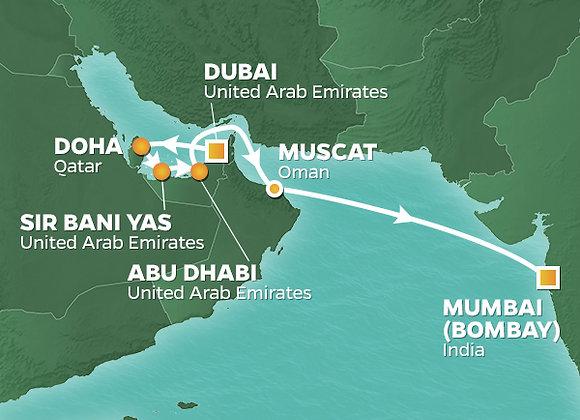 Azamara Quest * Dec-17-2019 * Dubai to Bombay (Mumbai) * 11 Nights