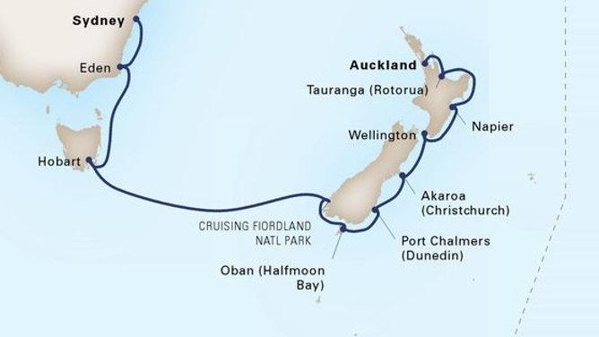 Maasdam * Feb 3,-2020 * Auckland to Sydney * 13 nights