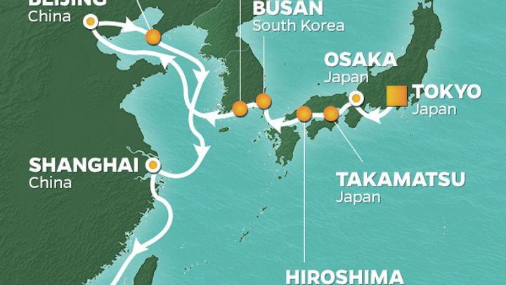 Azamara Quest * Sep-18-2019 * Tokyo (Harumi) to Hong Kong * 16 nights