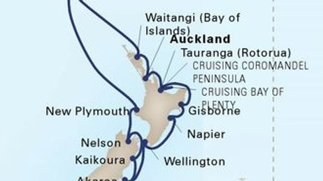 Maasdam * Jan 20,-2020 * Auckland to Auckland * 14 nights