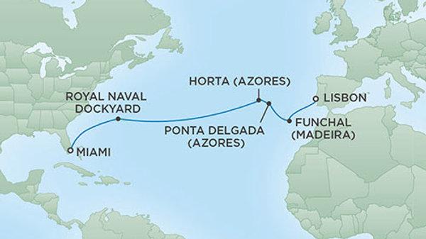 Seven Seas Explorer * Nov-23-2019 * Lisbon to Miami * 14 nights