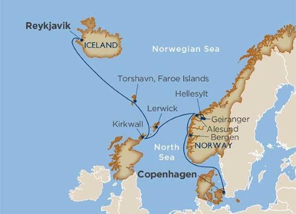 Windstar - 10 nights - Aug-18-19 -Copenhagen, Denmark