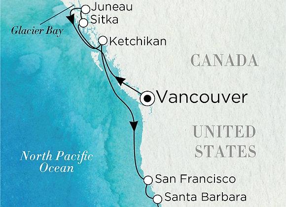 Crystal - 17/Sep/19 - 11 nights - Vancouver, BC, Canada