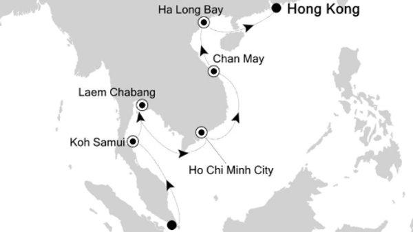 Silver Spirit * Dec-07-2019 * Singapore to Hong Kong * 14 nights